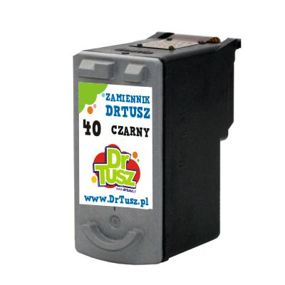 Tusz zamiennik PG-40 do Canon (0615B001) (Czarny)