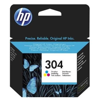 Tusz oryginalny 304 do HP (N9K05AE) (Kolorowy)