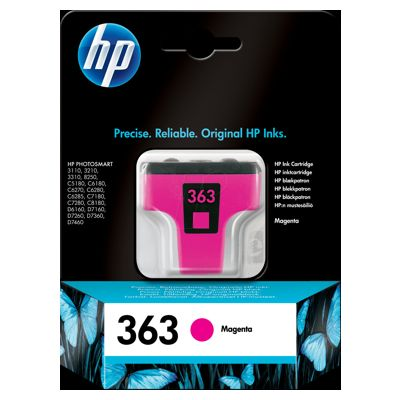 Tusz oryginalny 363 do HP (C8772E) (Purpurowy)