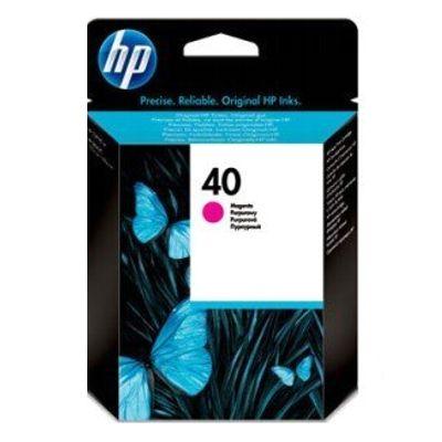 Tusz oryginalny 40 do HP (51640M) (Purpurowy)