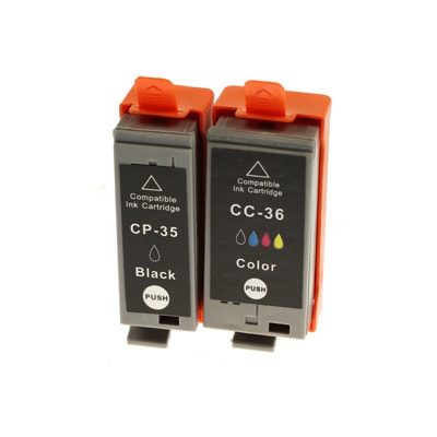 Tusze zamienniki PGI-35 + CLI-36 do Canon (komplet)