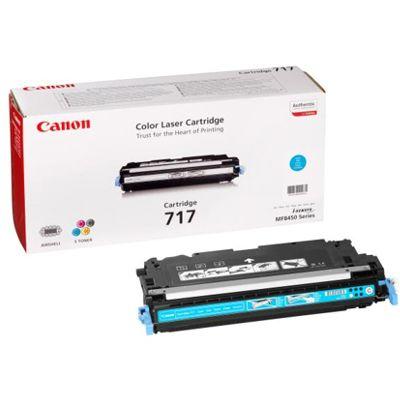 Toner oryginalny CRG-717 C do Canon (2577B002AA) (Błękitny)