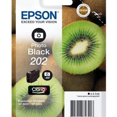 Tusz oryginalny 202 do Epson (C13T02F14010) (Czarny Foto)