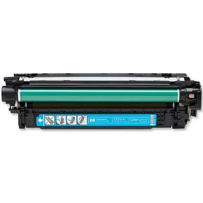 Regeneracja toner 504A do HP (CE251A) (Błękitny)
