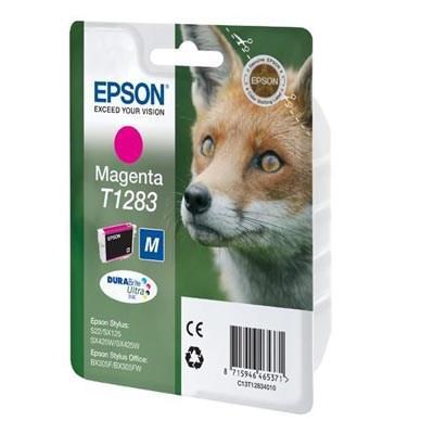 Tusz oryginalny T1283 do Epson (C13T12834010) (Purpurowy)