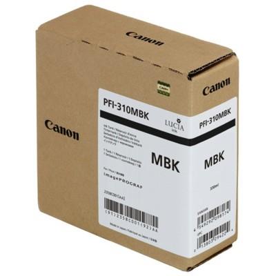 Tusz oryginalny PFI-310MBK do Canon (2358C001) (Czarny matowy)