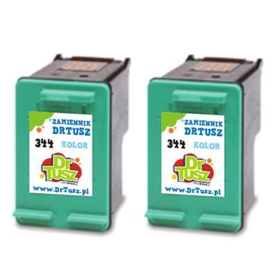 Tusze zamienniki 344 do HP (C9505EE) (Kolorowy) (dwupak)