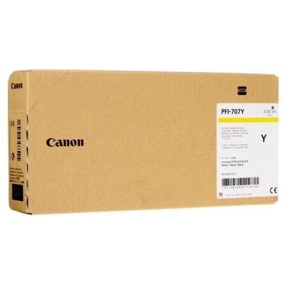 Tusz oryginalny PFI-707Y do Canon (9824B001) (Żółty)