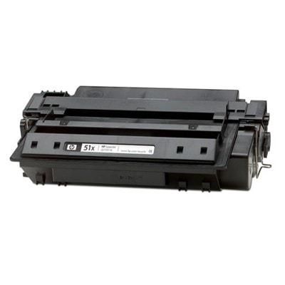Regeneracja toner 51X do HP (Q7551X) (Czarny)