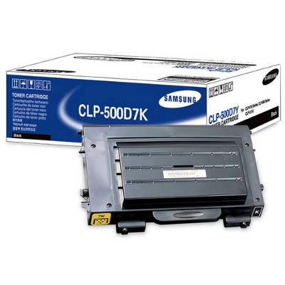 Toner oryginalny CLP-500D7K do Samsung (CLP-500D7K) (Czarny)