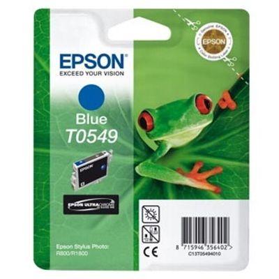 Tusz oryginalny T0549 do Epson (T0549) (Niebieski)