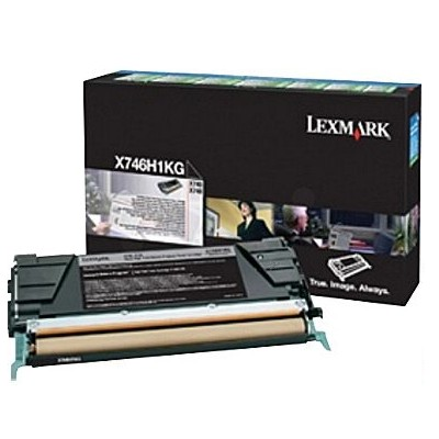 Toner oryginalny X746H1KG do Lexmark (X746H1KG) (Czarny)