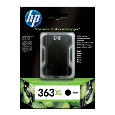 Tusz oryginalny 363 XL do HP (C8719E) (Czarny)