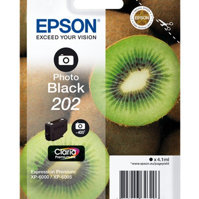 Tusz oryginalny 202 do Epson (C13T02F24010) (Błękitny)