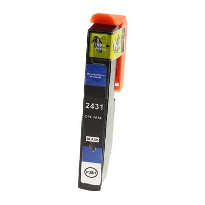 Tusz zamiennik T2431 do Epson (C13T24314010) (Czarny)