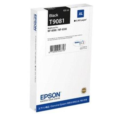 Tusz oryginalny T9081 do Epson (C13T908140) (Czarny)