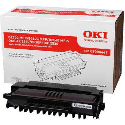 Toner oryginalny B2500 4K do Oki (9004391) (Czarny)