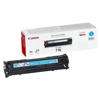 Toner oryginalny CRG-718 C do Canon (2661B002AA, 2661B011AA) (Błękitny)