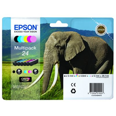 Tusze oryginalne T2428 do Epson (C13T24284010) (komplet)