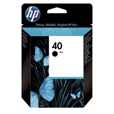 Tusz oryginalny 40 do HP (51640A) (Czarny)