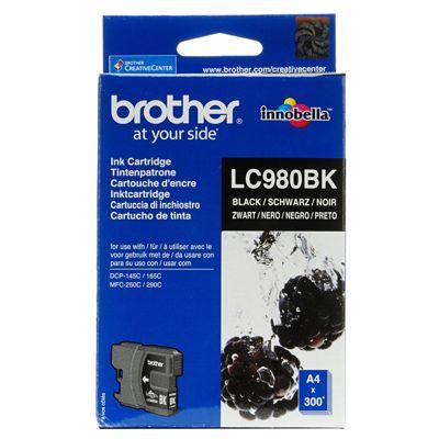 Tusz oryginalny LC-980 BK do Brother (LC980BK) (Czarny)
