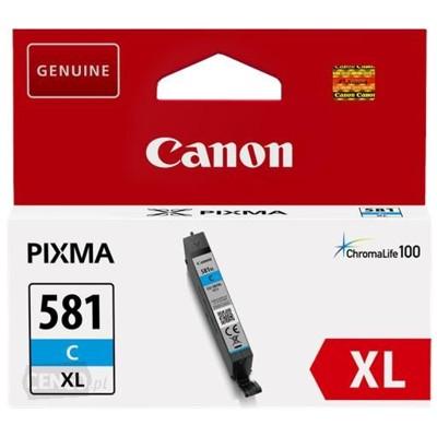 Tusz oryginalny CLI-581 XL C do Canon (2049C001) (Błękitny)