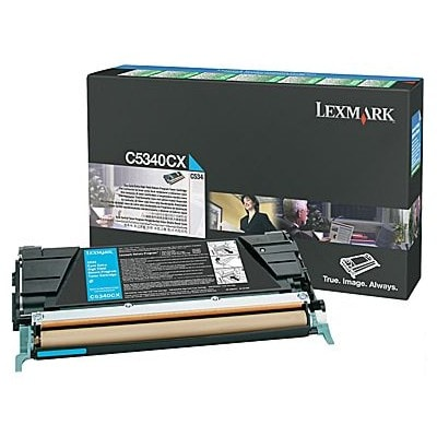 Toner oryginalny C5340CX do Lexmark (C5340CX) (Błękitny)