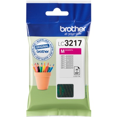 Tusz oryginalny LC-3217M do Brother (LC-3217M) (Purpurowy)