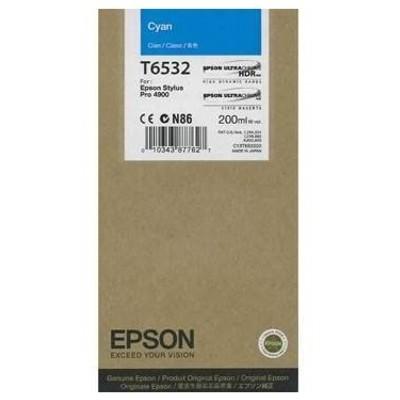 Tusz oryginalny T6532 do Epson (C13T653200) (Błękitny)
