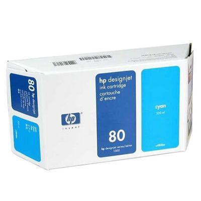 Tusz oryginalny 80 XL do HP (C4846A) (Błękitny)