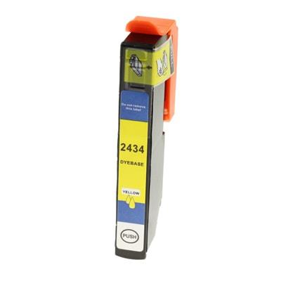 Tusz zamiennik T2434 do Epson (C13T24344010) (Żółty)