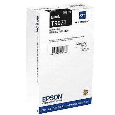 Tusz oryginalny T9071 do Epson (C13T907140) (Czarny)