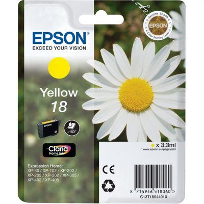 Tusz oryginalny T1804 do Epson (C13T18044010) (Żółty)