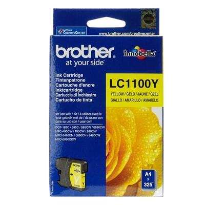 Tusz oryginalny LC-1100 Y do Brother (LC1100Y) (Żółty)