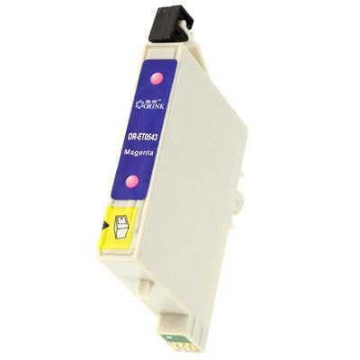 Tusz zamiennik T0543 do Epson (C13T05434010) (Purpurowy)