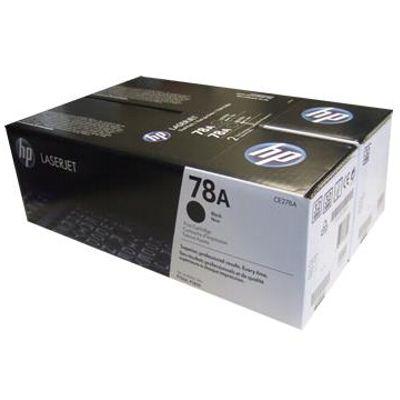 Tonery oryginalne 78A do HP (CE278AD) (Czarny) (dwupak)