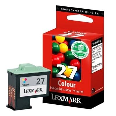 Tusz oryginalny 27 do Lexmark (10NX227E) (Kolorowy)