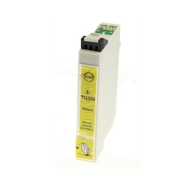 Tusz zamiennik T0714 do Epson (C13T07144010) (Żółty)