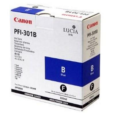 Tusz oryginalny PFI-301B do Canon (1494B001) (Niebieski)