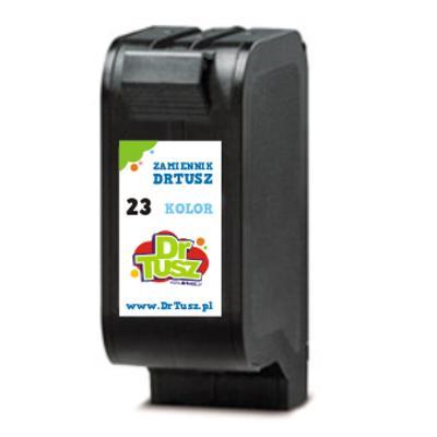 Tusz zamiennik 23 do HP (C1823DE) (Kolorowy)