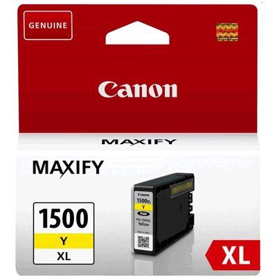 Tusz oryginalny PGI-1500 Y do Canon (9195B001) (Żółty)