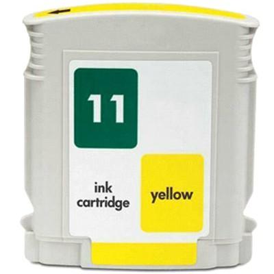 Tusz zamiennik 11 do HP (C4838AE) (Żółty)
