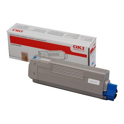 Toner oryginalny C610 do Oki (44315307) (Błękitny)