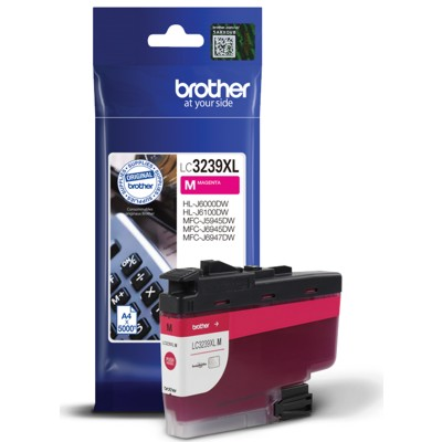 Tusz oryginalny LC-3239 XL M do Brother (LC-3239XLM) (Purpurowy)