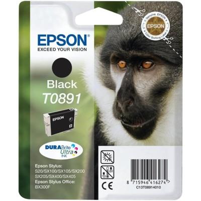 Tusz oryginalny T0891 do Epson (C13T08914011) (Czarny)
