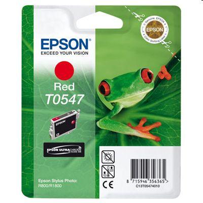 Tusz oryginalny T0547 do Epson (T0547) (Czerwony)