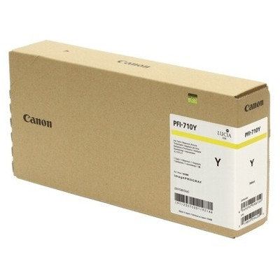 Tusz oryginalny PFI-710Y do Canon (2357C001) (Żółty)