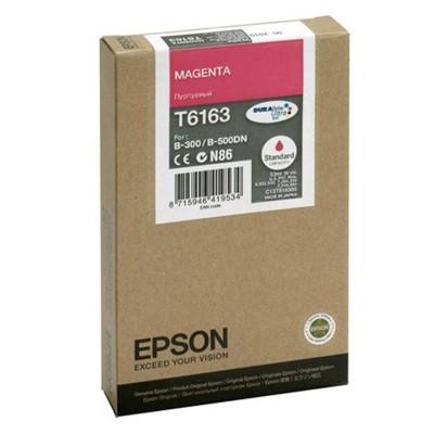 Tusz oryginalny T6163 do Epson (C13T616300) (Purpurowy)