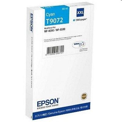 Tusz oryginalny T9072 do Epson (C13T907240) (Błękitny)