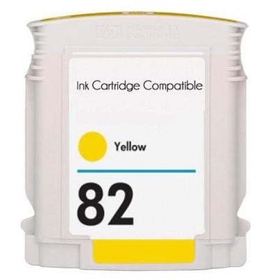 Tusz zamiennik 82 do HP (C4913A) (Żółty)